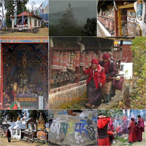 mosaico sikkim budistas
