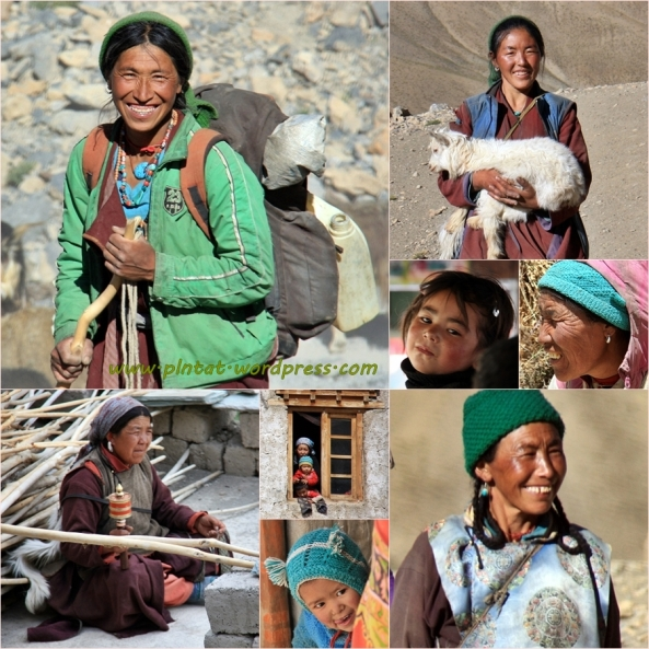 mosaico gente ladakh