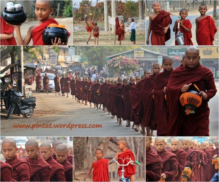 mosaico monjes